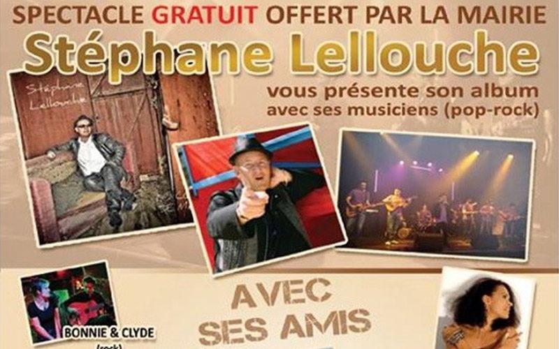 Concert Stéphane Lellouche à Castelnau Le Lez