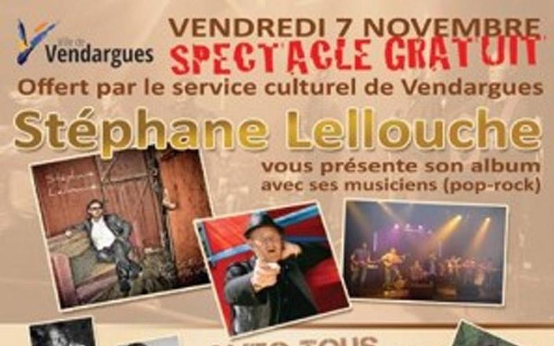 Concert Stéphane Lellouche à Vendargues